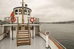 Barco de vapor restablecido viejo Fotos de archivo libres de regalías