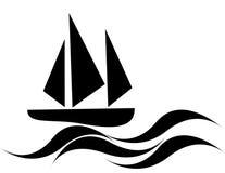 Barco de vela Foto de archivo