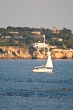 Barco de vela 2 Imagen de archivo libre de regalías