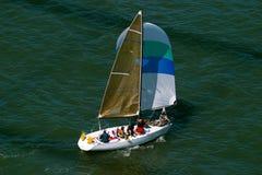 Barco de vela imagem de stock