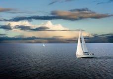 Barco de vela Imagen de archivo