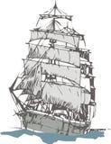 Barco de vela Fotos de archivo libres de regalías