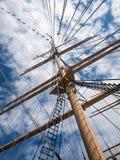 Barco de vela antiguo Foto de archivo libre de regalías