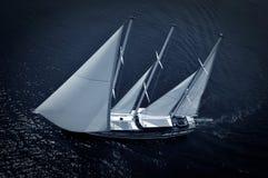 Barco de vela de lujo Foto de archivo