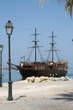 Barco de vela de madera fotografía de archivo libre de regalías