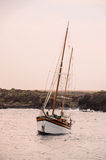 Barco de vela del vintage Foto de archivo libre de regalías