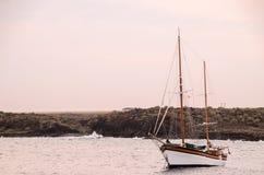 Barco de vela do vintage Imagens de Stock Royalty Free