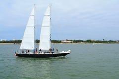 Barco de vela em La Rochelle, França Fotos de Stock Royalty Free