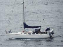 Barco de vela em Puget Sound Foto de Stock Royalty Free