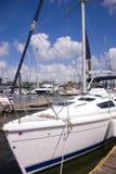 Barco de vela en Kemah Fotografía de archivo libre de regalías