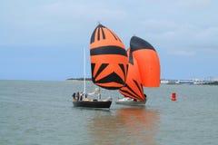 Barco de vela en La Rochelle, Francia Imágenes de archivo libres de regalías