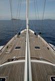 Barco de vela en la vela Imagen de archivo