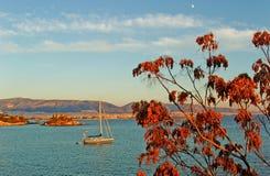 Barco de vela - Faliro Imagenes de archivo