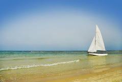 Barco de vela hermoso Imagen de archivo