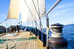 Barco de vela II Foto de archivo libre de regalías