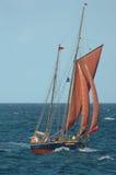 Barco de vela viejo Foto de archivo
