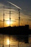 Barco de vela viejo Fotos de archivo