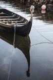 Barco de Viking en Corrie en la isla de Arran Foto de archivo