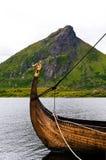 Barco de Vikingo Imagen de archivo libre de regalías