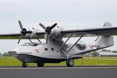 Barco de voo consolidado de PBY Catalina Fotos de Stock Royalty Free