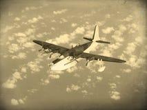 Barco de voo da guerra mundial 2 do vintage Imagens de Stock Royalty Free