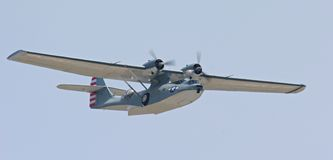 Barco de vuelo de Catalina Imagen de archivo libre de regalías
