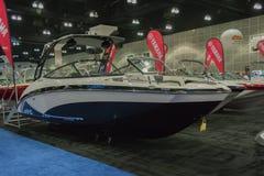 Barco de Yamaha ar240 en la exhibición Fotografía de archivo