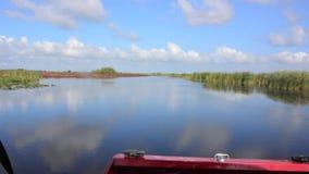 Barco del aire de los marismas