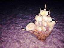 barco del amor Fotos de archivo