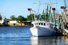 Barco del camarón de Luisiana Fotos de archivo libres de regalías