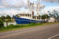 Barco del camarón de Luisiana Foto de archivo libre de regalías