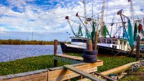 Barco del camarón de Luisiana Fotografía de archivo libre de regalías