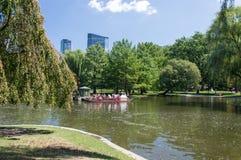 Barco del cisne, Boston fotos de archivo libres de regalías