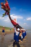 Barco del dragón Foto de archivo libre de regalías