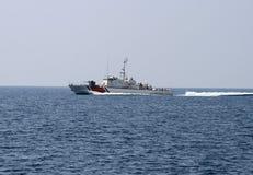 Barco del guardacostas foto de archivo