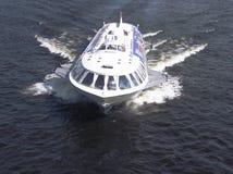 Barco del hidrodeslizador Imagenes de archivo