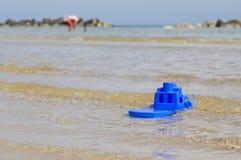 Barco del juguete Fotos de archivo