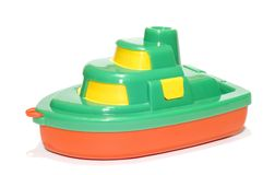Barco del juguete Foto de archivo libre de regalías