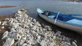 Barco del lago metrajes