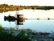 Barco del minero Fotos de archivo libres de regalías