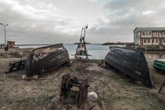 Barco del pescador Fotos de archivo libres de regalías