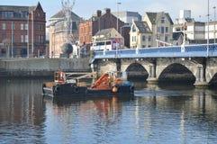 Barco del pescador de Belfast imagen de archivo libre de regalías