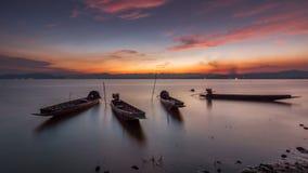 Barco del pescador, Tailandia Fotografía de archivo libre de regalías