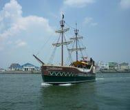 Barco del pirata de Duckeneer Fotos de archivo libres de regalías