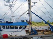Barco del puerto fotografía de archivo libre de regalías