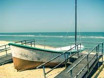 Barco del tiempo de verano Imagen de archivo