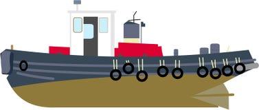 Barco del tirón libre illustration
