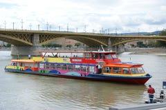 Barco del transporte público Imágenes de archivo libres de regalías