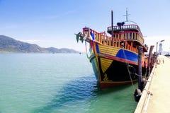 Barco del viaje imagenes de archivo