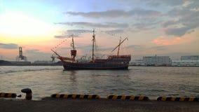 Barco del viaje de Santa Maria de Osaka Fotos de archivo libres de regalías